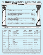 The 2018 Pittsburgh Summer Greek Festivals Guide