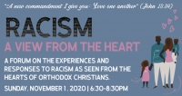 A View From the Heart - Racism Forum - ONLINE ATTENDANCE